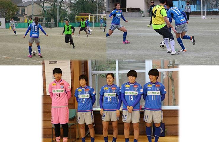 東深沢小でミニサッカー・「スフィーダ世田谷FC」の選手