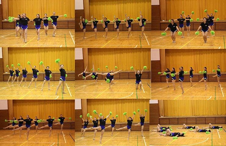 日本体育大学ソングリーディングクラブLAURELSのみごとな演技