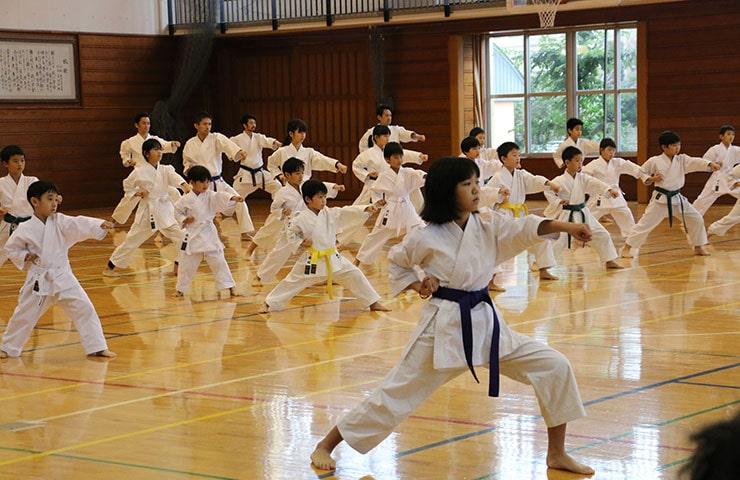 空手は2020東京オリンピック・パラリンピックの正式種目です