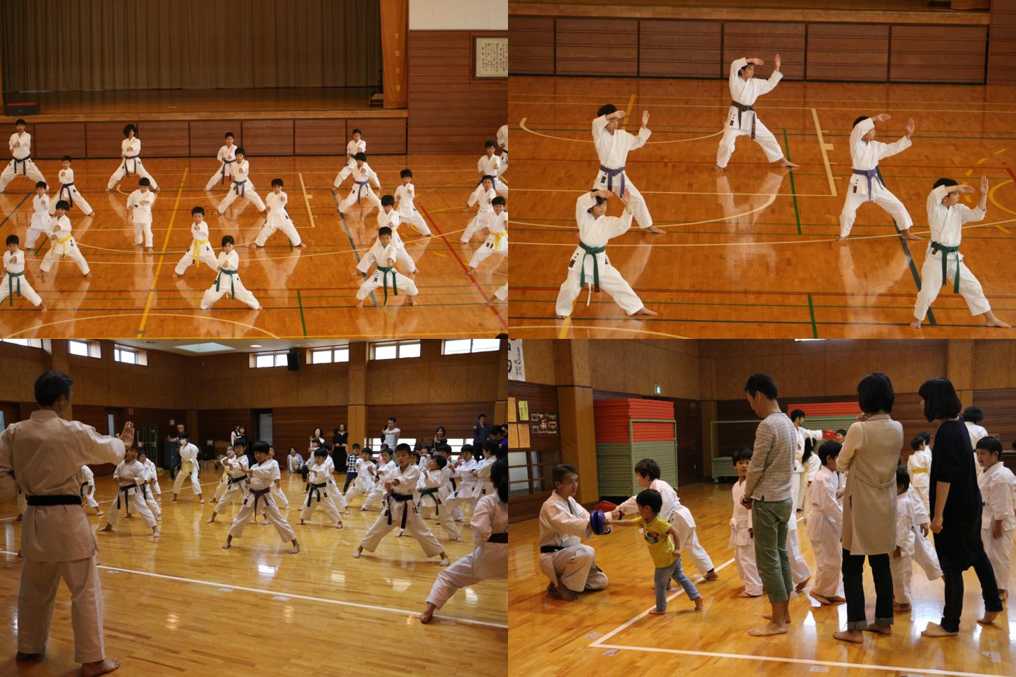 空手は2020東京オリンピックの正式種目です